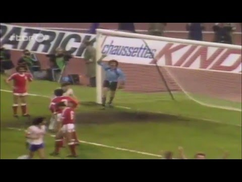 1983 UEFA Cup Final first leg (Anderlecht 1–0 Benfica)