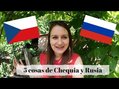 5 COSAS DE REPÚBLICA CHECA Y RUSIA | Georgie En Español