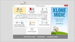 mehreren PDF Dateien zusammenfügen