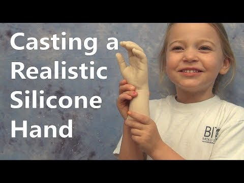 Silicone Casting Tutorial - Flesh Tones With Pigment And Flocking