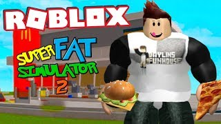 I ATE EVERYTHING IN ROBLOX!!! Super Fat Simulator 2