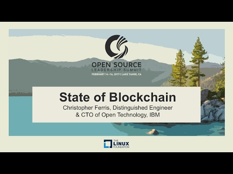 Keynote: State of Blockchain - Christopher Ferris, Distingui