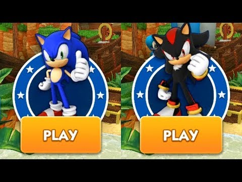 Sonic Dash IPhone Gameplay - SONIC VS SHADOW Ep 1