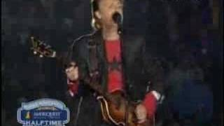 Paul McCartney Superbowl Halftime Part 1