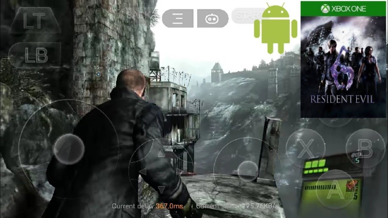 Ps3 Xbox 360 Android Resident Evil 6 Test Jake Gameplay With