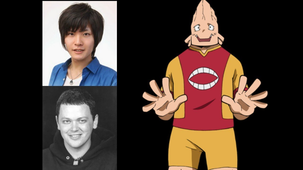 Anime Voice Comparison Koji Koda My Hero Academia