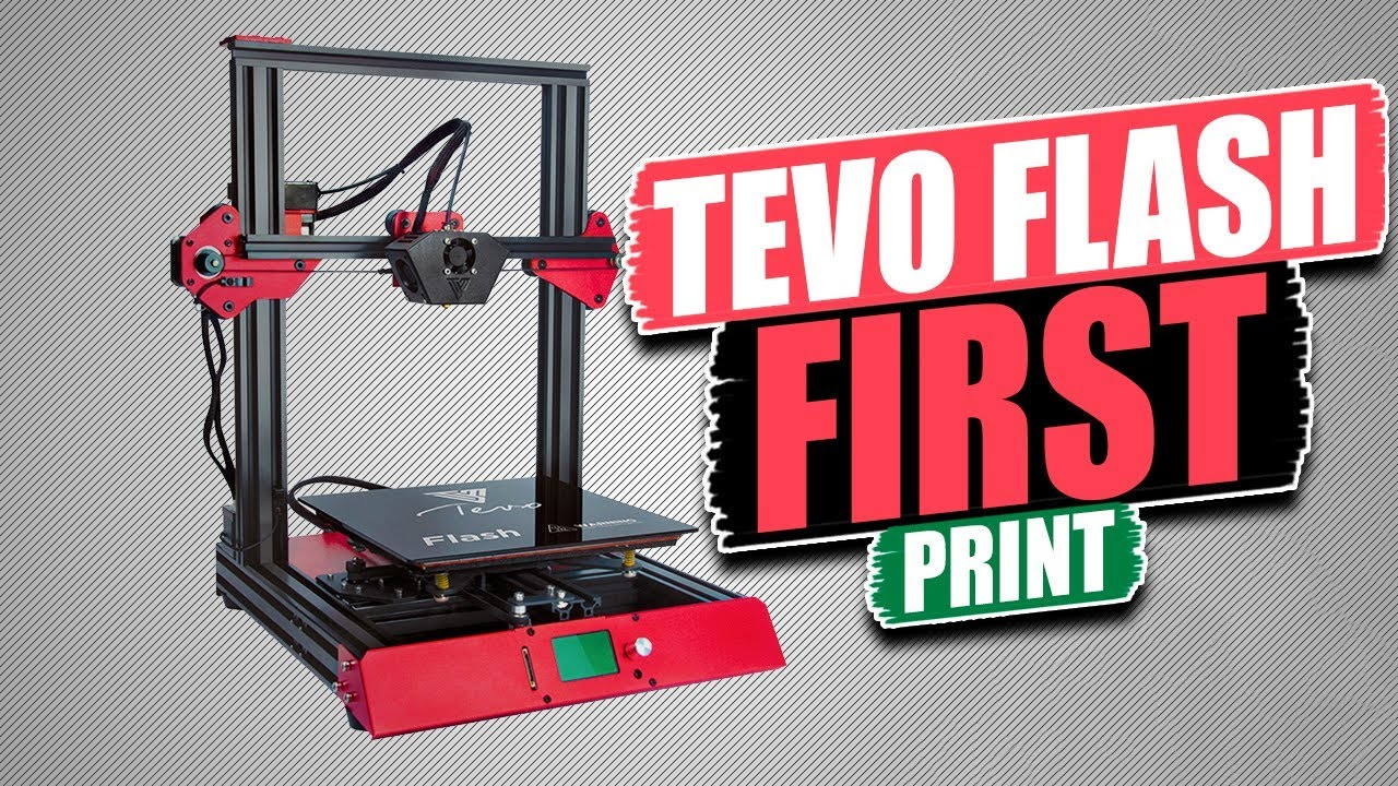 Tevo Flash First 3D Print