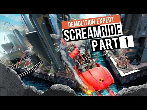 "Screamride - Let's Play - [Demolition Expert Campaign] - Part 1 - ""The Populous Labs"""