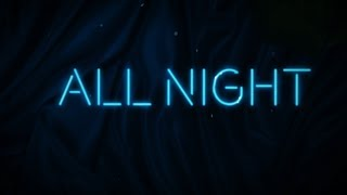 steve aoki x lauren jauregui   all night lyric video ultra music
