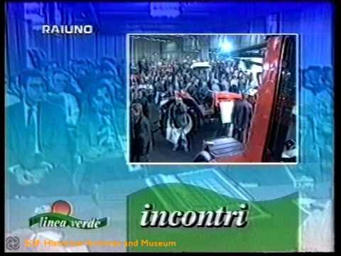 27esima edizione EIMA - Linea Verde, Rai 1 (1996)