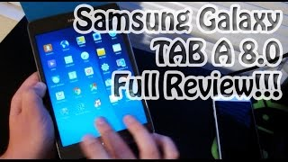NEW* Samsung Galaxy Tab A 8.0 Full Review | The BEST Budget Tablet?