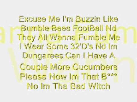 Nicki Minaj Single Ladies Lyrics