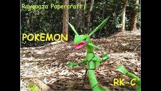 Rayquaza Papercraft (RETO CUMPLIDO)