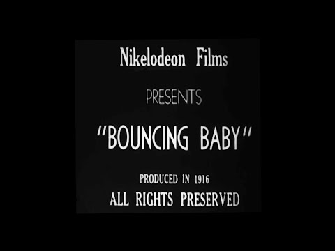 "100 year old Florida Film ""Bouncing Baby"" Restored (1916)"