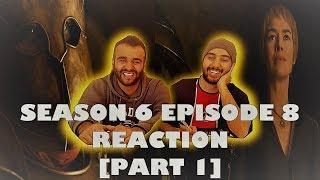 "Game of Thrones Season 6 Episode 8 [Part 1] REACTION!! ""No One"""