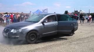 Race & Tuning Day- VW Passat B6 burnout
