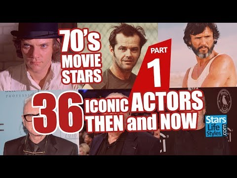70's Movie Stars : 36 Iconic Actors Nowadays | Hollywood Moviestars Then And Now