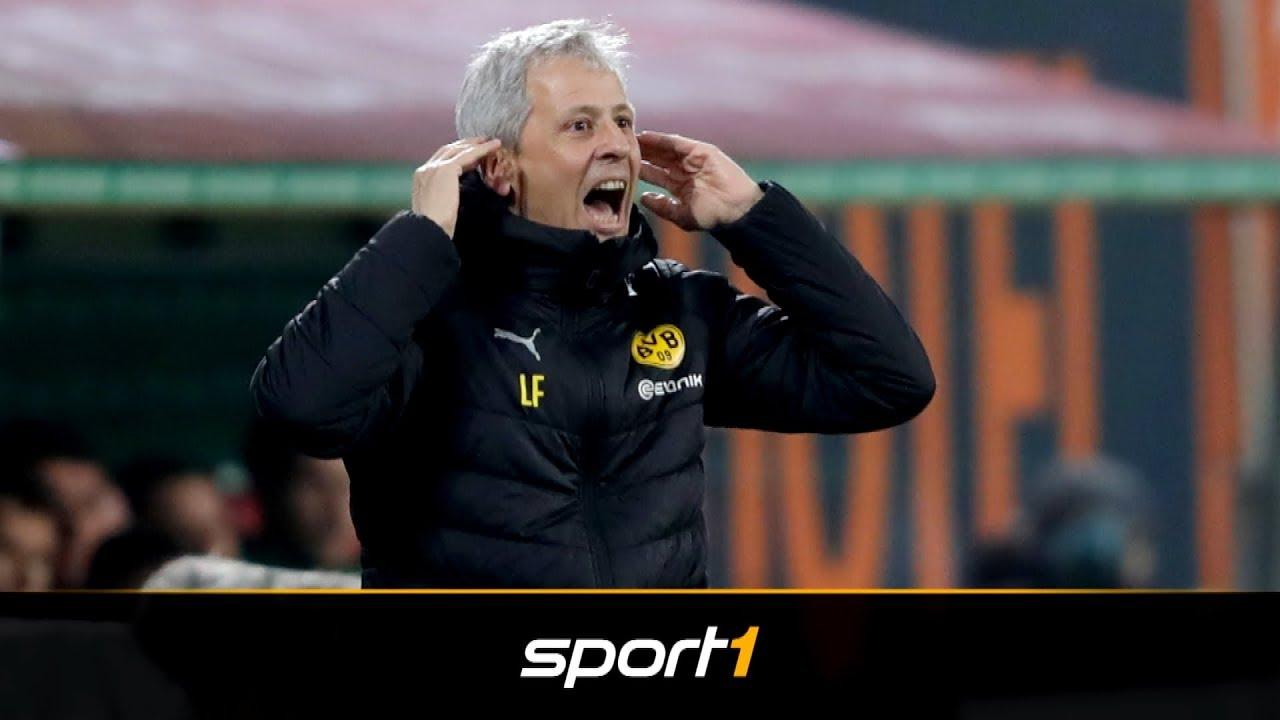 Favre nörgelt über BVB-Kader   SPORT1 - DER TAG