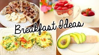 Healthy & Easy Breakfast Ideas for School! Thumbnail