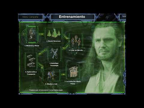 Star Wars: Galactic Battlegrounds - Tutorial E1: Moverse y atacar |