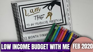 FEBRUARY 2020 BUDGET WITH ME: Low Income   Income Allocation Method   KeAmber Vaughn