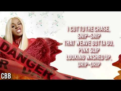 Cardi B - Cheap Ass Weave (Lyrics - Video) HD