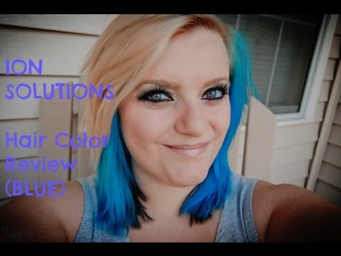 Review On Ion Color Brilliance Brights In Sky Blue Youtube