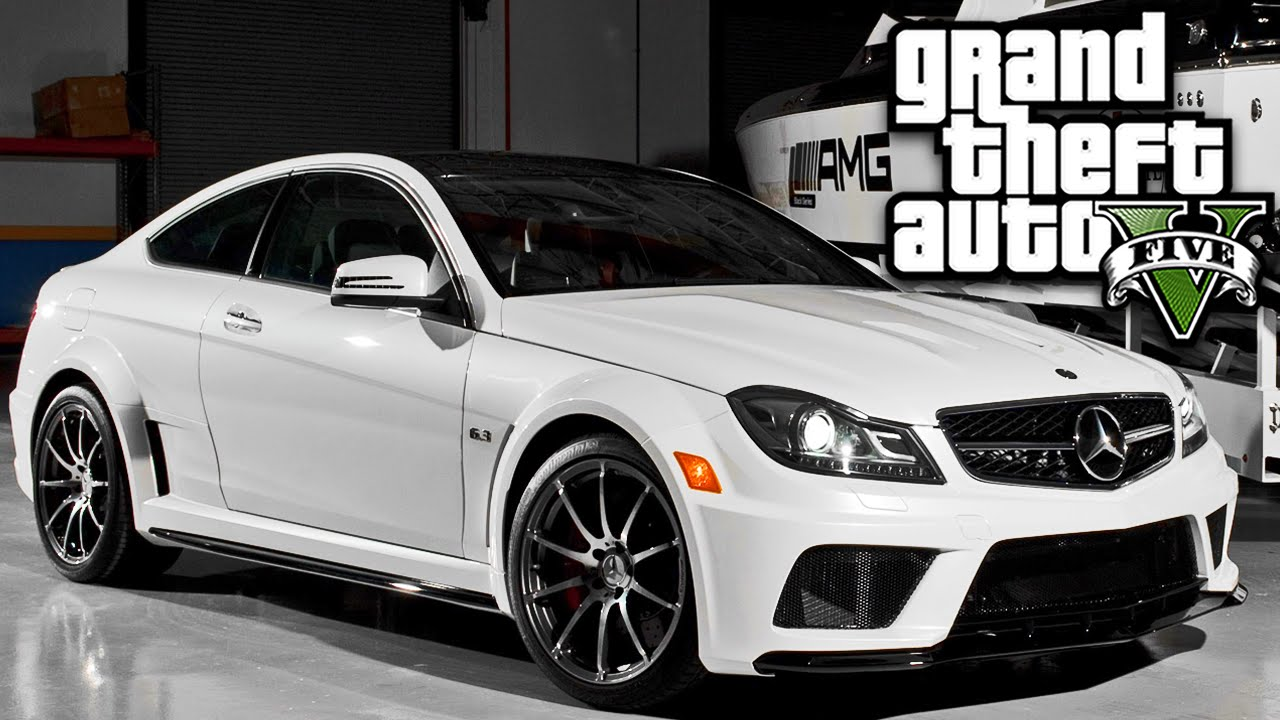 gta 5 mods carros mercedes benz c63 amg youtube