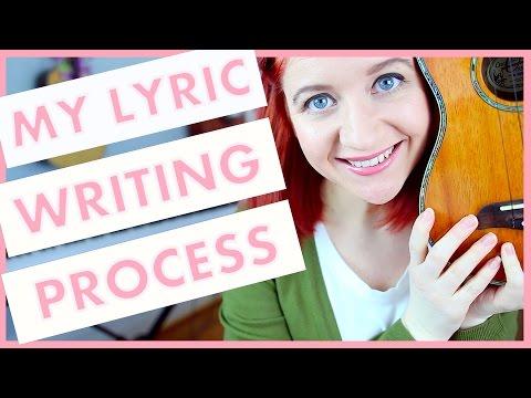 My Lyric Writing Process (Songwriting 101)