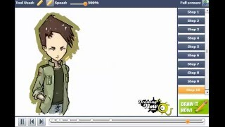 How to Draw Ulrich Stern from Code Lyoko