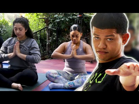 Latinos Try Yoga For The First TIme