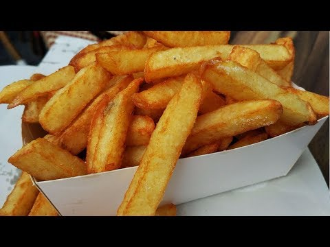 Crispy French Fries Recipe - Homemade Crispy Fries Recipe- Restaurant Style French Fries