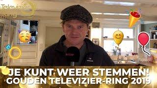 Beau van Erven Dorens roept op om te stemmen voor de Gouden Televizier-Ring