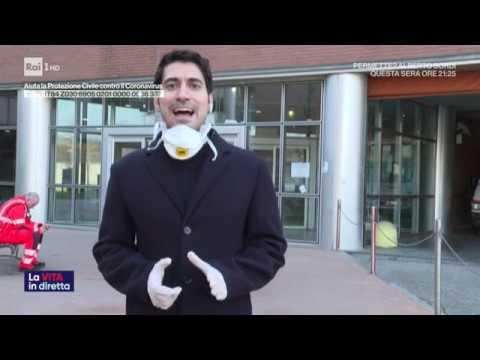 Coronavirus, l'Italia chiude. Luce in fondo al tunnel? - La vita in diretta 24/03/2020