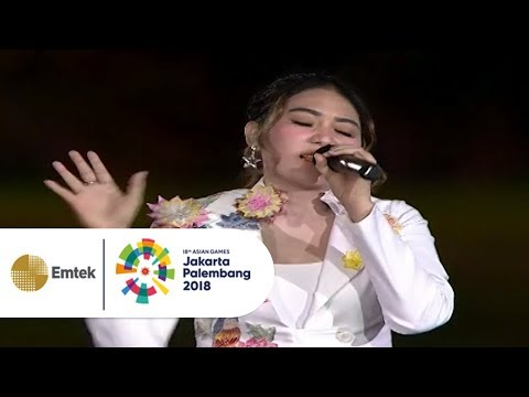 Via Vallen - Meraih Bintang | Opening Ceremony Asian Games 2018