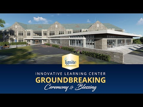 Loyola Blakefield's Innovative Learning Center Groundbreaking Ceremony