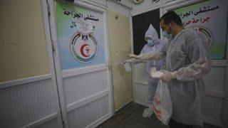 El norte de Gaza, alarmado por índice de casos y falta de productos médicos