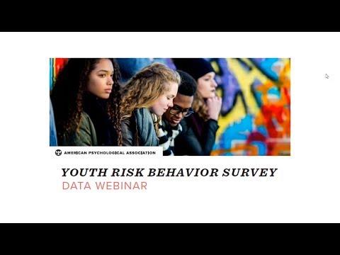 Youth Risk Behavior Survey Data Webinar