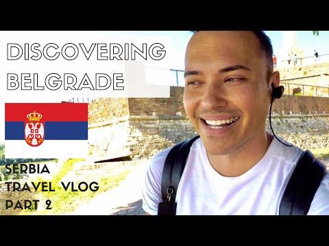 BELGRADE TRAVEL VLOG | Trying Burek + Sightseeing Around The City | PART 2