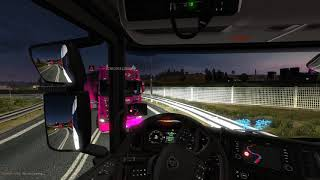 ets2 mp accident (ramming)