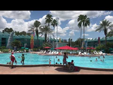 DISNEYS ALL STAR SPORTS RESORT PREFERRED ROOM TOUR CLOSE TO PARKING LOT AND POOL