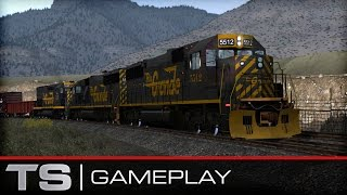Train Simulator 2015 Gameplay - D&RGW SD50
