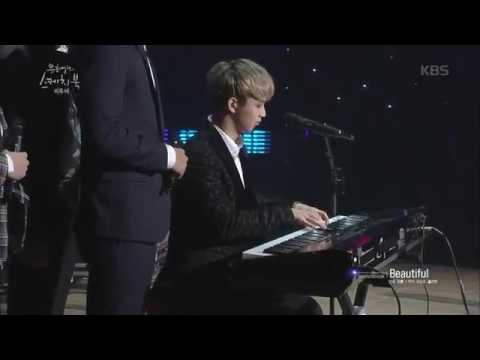 BTOB Yook Sungjae Singing Ost Goblin Beautiful Sketchbook