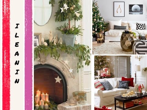 decoracion de navidad de interiores christmas home decoration ideas