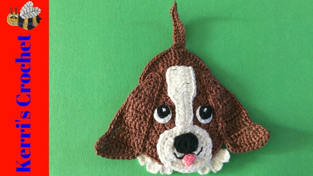 Basset Hound Dog Crochet Tutorial Youtube