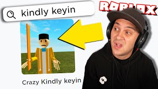 WEIRD KINDLY KEYIN ROBLOX GAMES... (part 2)