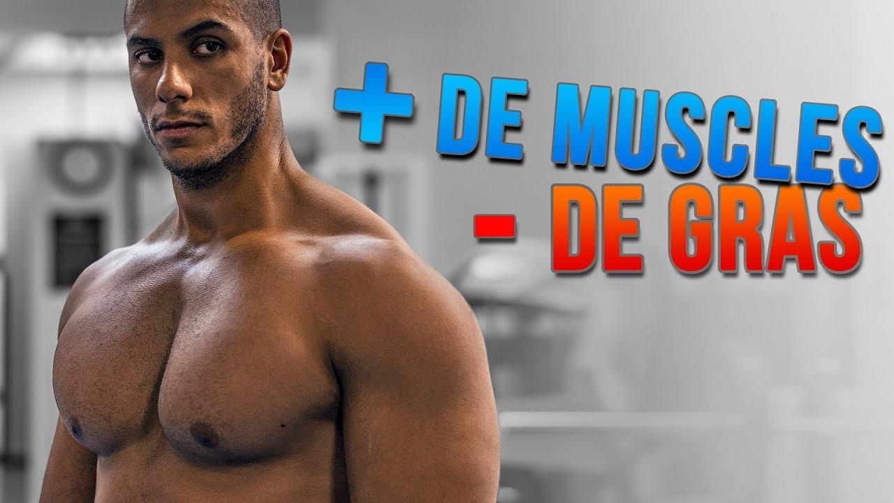 Prendre du MUSCLE et Perdre du GRAS... EN MÊME TEMPS - YouTube 26a5be7e55f