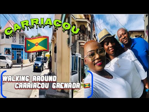 Hillsborough Carriacou Grenada|A Day In The Life In Carriacou|walking Through The Town During Covid!