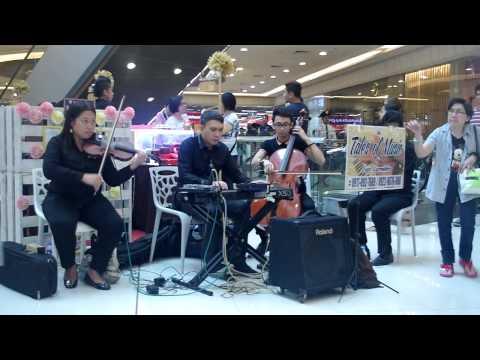 por una cabeza instrumental quartet musicians for parties manila Philippines