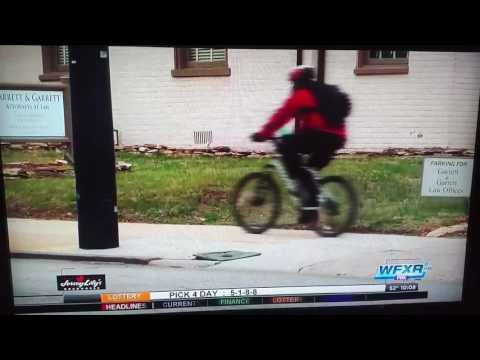 WFXR Reports on Danville, VA Bike Share